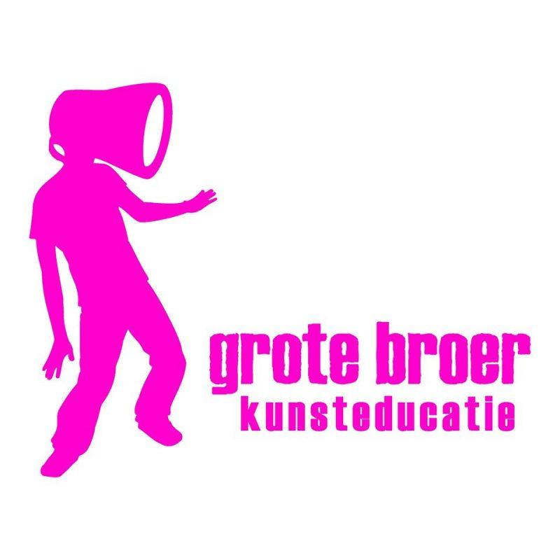 Logo grote broer kunsteducatie
