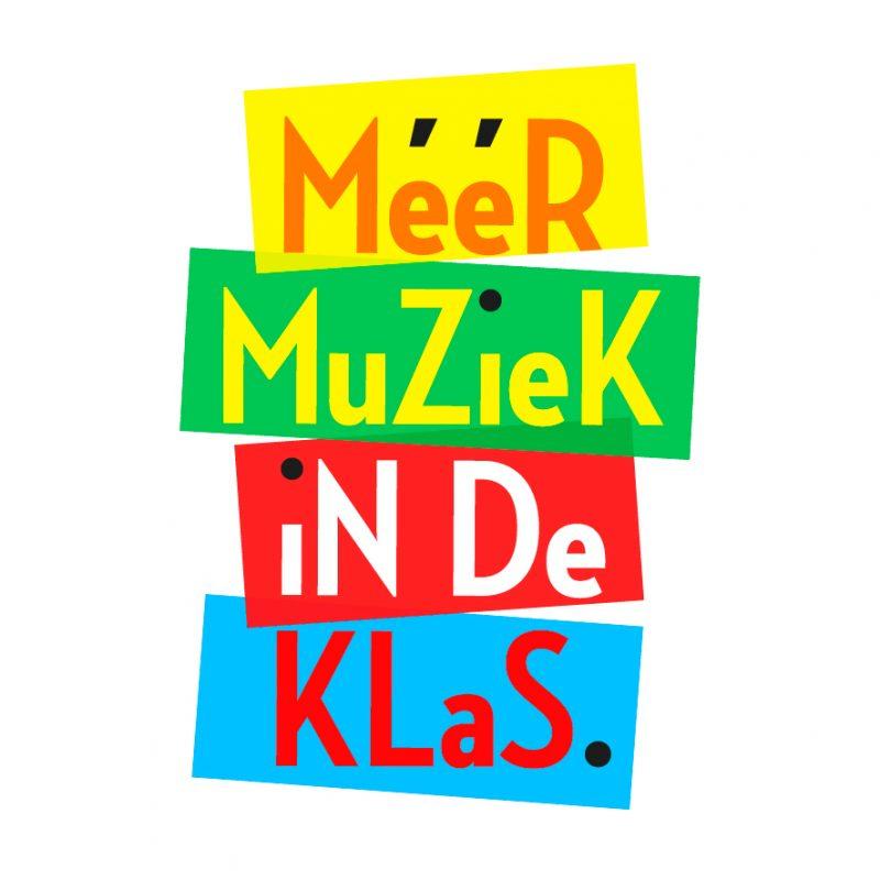 Logo meer muziek in de klas
